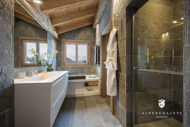 luxuri ses wellnesschalet diane verbier h ttenurlaub in 4 vall es verbier mieten alpen. Black Bedroom Furniture Sets. Home Design Ideas